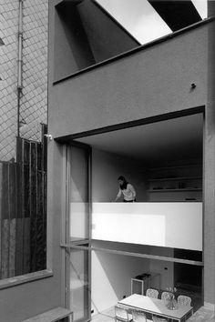 Vincent Van Duysen — RA residence, Antwerp School Architecture, Space Architecture, Stone Flooring, Villa, Vincent Van Duysen, Track Lighting, Soho, Townhouse, Vans