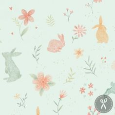 Blue Bunnies FLANNEL Fabric-Bunny Tales Flannel-Studio E-Bunny Flannel Fabric-Bunny Nursery Flannel-Flannel Baby Nursery Fabric-Bunny Fabric Baby Flannel, Flannel Quilts, Illustration Inspiration, Cute Illustration, Easter Fabric, Bunny Nursery, Nursery Fabric, Blue Bunny, Soft Colors
