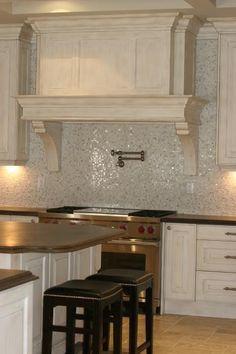 #StandardPaint sparkling tile backsplash.. beautiful