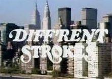 Different Strokes 80's tv