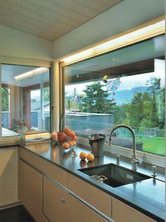 Lights around the kitchen window - solution