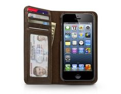 BookBook for iPhone 5, All-In-One Vintage Case + Wallet for iPhone 5