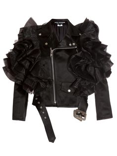 Junya Watanabe women's Satin Ester Jacket from S/S 12 collection in black