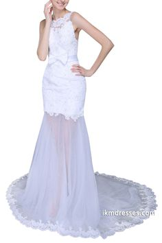 http://www.ikmdresses.com/Sexy-Lace-Tulle-Garden-Beach-White-Wedding-Dress-Applique-Backless-Chapel-Train-Bridal-Dresses-p88752