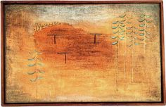 'réunion lieu' de Paul Klee (1879-1940, Switzerland)
