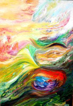 Artwork >> Bernadette Malecki >> Imagination  #artwork, #masterpiece, #color, #bright, #painting