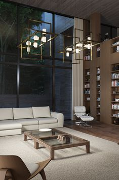 The Aged Brass ModernRail Chandelier by Tech Lighting is uniquely different in that it offers the flexibility of a custom low-voltage rail system in an easy to order package. This ModernRail system can be customized with the option to choose from either frosted opal glass orbs or sleek contemporary cylinders, as well as frame the rail system with either a horizontal rectangular frame or two adjustable vertical frames.The integrated LED globes or cylinders are fully dimmable. Rustic Pendant Lighting Kitchen, Kitchen Lighting Fixtures, Farmhouse Lighting, Dining Room Lighting, Rustic Lighting, Industrial Dining, Lighting Ideas, Industrial Style, Lighting Design