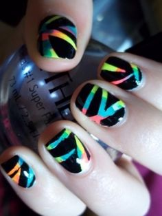 16 Stylish Nail Art Ideas for Next Party - Pretty Designs
