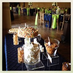 Snack table - wedding - Comme il Faut Events and Catering