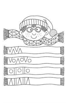Album Archive - 456 numero mania del 1 al 30 Preschool Learning Activities, Preschool Worksheets, Winter Activities, Kindergarten Math, Kids Learning, Math Patterns, Pre Writing, Elementary Art, Kids Education