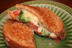 Oprah's Favorite Grilled Cheese via @ohsweetbasil