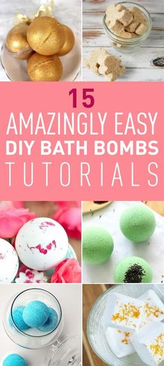 Another amazing thing about bath bombs is that you can make them at home. Without having to spend much money