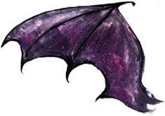 Bat Wing Tattoo Stencil