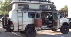 The Sporstmobile 4x4 Camper Van is Sportsman's Dream