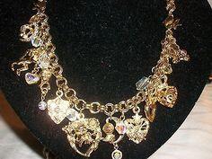 Kirks Folly Necklace Bracelet Knights Hearts Shield Pegasus Fantasy Jewelry, Pegasus, Knights, Unicorn, Mermaid, Hearts, Fairy, Bracelets, Ebay