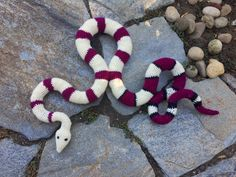 Suvi's Crochet: Red-Tailed Boa Constrictor