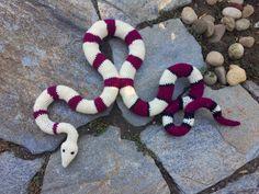 Suvi's Crochet: Red-Tailed Boa Constrictor, #crochet, free pattern, amigurumi, reptile, #haken, gratis patroon (Engels), slang, reptiel, #haakpatroon