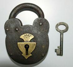 Padlocks, Heart Shapes, Keys, Iron, Brass, Smoke, Personalized Items, Antiques, House