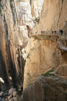 Málaga County Council is to open El Caminito del Rey path before Easter after having invested 2.24 m euros in it - Costa del Sol Málaga - Diputación de Málaga