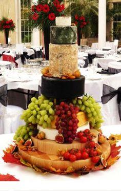 Cheese wedding cake by Rachelles cakes