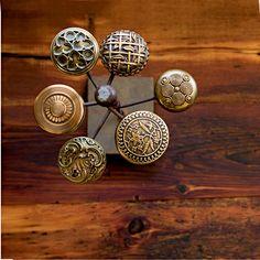 metal doorknobs vintage