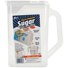 "Amazon.com - Buddeez Bag in Sugar Dispenser, 10"" H x 9"" W x 5"" D, Clear -"