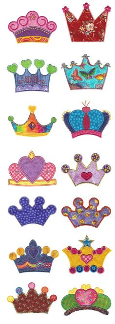 Cute selection of Crowns
