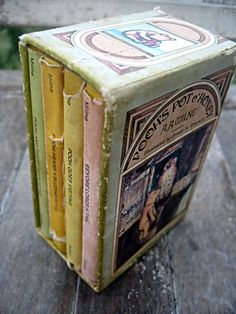 Vintage Winnie the Pooh boxed set tiny books by LittleBeachDesigns, $45.00