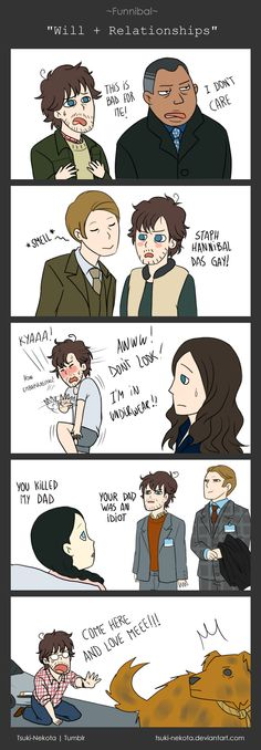 Funnibal - Will + Relationships by Tsuki-Nekota.deviantart.com on @deviantART