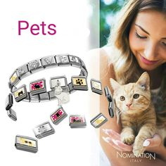 Love your pets Nomination Bracelet, Love Your Pet, Italy, Pets, Instagram Posts, Animals, Charms, Jewellery, Watches