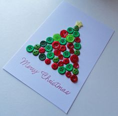 Hey, I found this really awesome Etsy listing at https://www.etsy.com/listing/168393914/christmas-card-button-art-christmas-tree