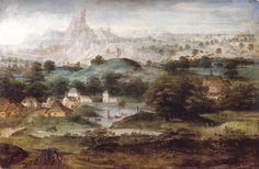 Herri met de Bles : Landscape with Hagar (Instituut Collectie Nederland  (Netherlands - Amsterdam)) 1510-1555 ヘッリ・メット・デ・ブレス