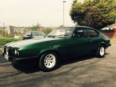 FORD-CAPRI-BLACK-MK3-2-8i-V6-FULLY-REBUILD-NEW-BROOKLANDS-LEATHER-INTERIOR