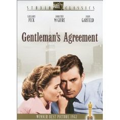 Academy Awards Best Picture 1947: Gentleman's Agreement   **Other Nominees: The Bishop's Wife, Crossfire, Great Expectations, Miracle on 34th Street
