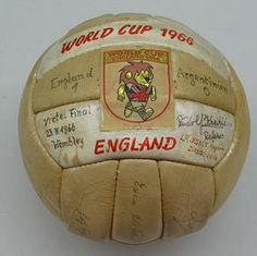 Conoce la historia de la creación del balón del mundial de Inglaterra