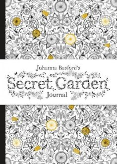25 OFF Secret Garden Journal Hardback Johanna Basford Doodling Doodles Ink Drawings Illustration Diary