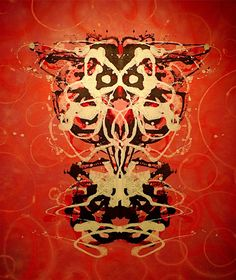 Rorschach Mask IV by Art Spellings