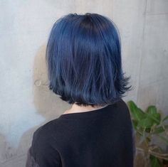 Imagem de aesthetic, alternative, and blue Hair Color And Cut, Cool Hair Color, Dying My Hair, Aesthetic Hair, Hair Dye Colors, Coloured Hair, Auburn Hair, Dream Hair, Pretty Hairstyles