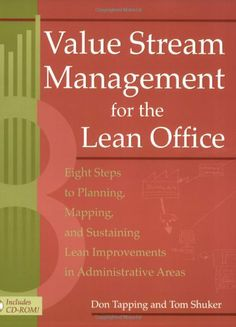 Value stream management for the lean office : eight steps to planning, mapping and sustaining lean imporvements in administrative areas / Don Tapping and Tom Shuker
