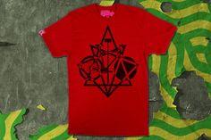 Red 8Point Polo T-Shirt   VANDALrgz   Online Store  Merchandise  #VANDALrgz #bikepolo #lifestyle #streetwear