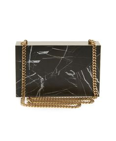 Stella McCartney Marble Box Minaudiere