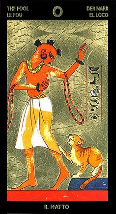 The Fool - Tarot Nefertari