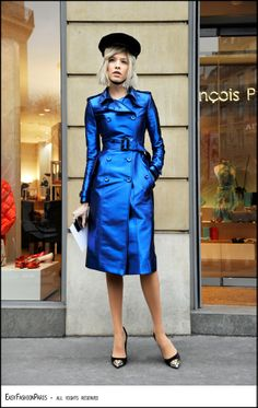 Paris... Man, this girl is so cool!