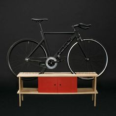 Modern Interior Design and Space Saving Storage Ideas for Bicycle Enthusiasts