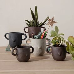 These cute Ferm Living Mus Plant Pots are now in our Winter Sale, don't miss out 💫 . #greenliving #kidsdecor #kidsroomwarrior… Design Shop, Green Plants, Potted Plants, Little Architects, Design House Stockholm, Contemporary Plays, Letter Tray, Pot Sets, Kids Decor