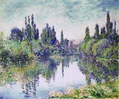 Morning on the Seine, near Vetheuil, Claude Monet, 1878.