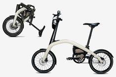 General Motors E-Bike - Dr Wong - Emporium of Tings. Folding Bicycle, Unicycle, Bike Style, Transport, Bike Design, General Motors, Custom Bikes, Cars And Motorcycles, Bicycles