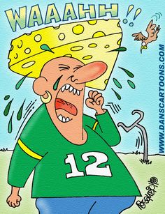 Many Yoopers Are Packer Fans. This was a typical Packer fan after the loss to New York!