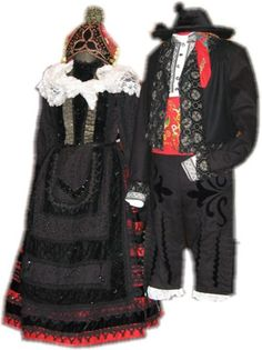 Hello all, Today I will talk about one of the costumes of Castile, the heart of Spain and center of the Castillian language, wh. Regional, Portugal, Spain, Language, Costumes, Embroidery, Heart, Fashion, Tutorials