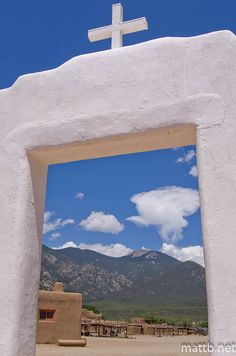 I love Taos- this is the Taos pueblo- everyone should visit!